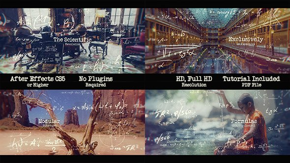 The Scientific Revolution - Parallax Slideshow- Project for After Effects (Videohive)