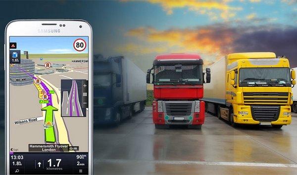 Sygic Truck GPS Navigation v13.7.1 build 118 [Unlocked] Happy-Team