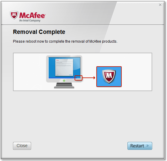 McAfee Consumer Product Removal Tool 10.2.245.0