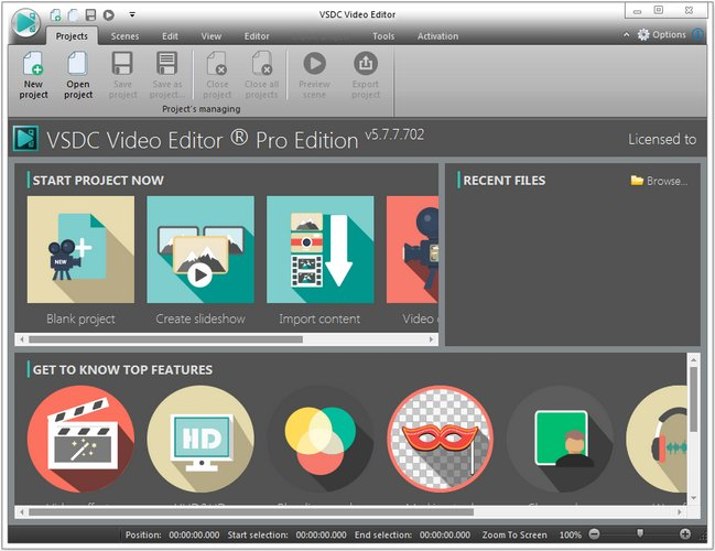 VSDC Video Editor Pro 5.7.7.702 Multilingual Portable