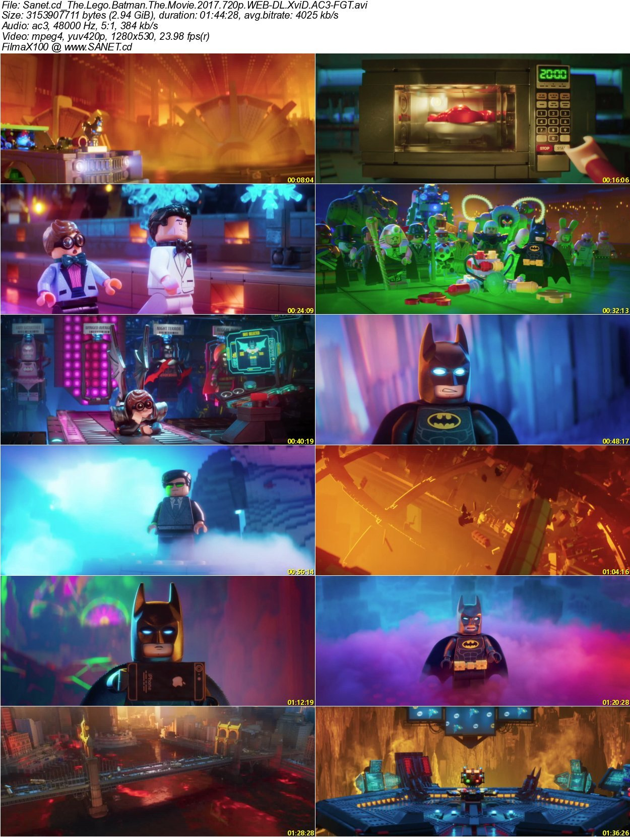 The Lego Movie 2: The Second Part HD Blu Ray 720p French ...