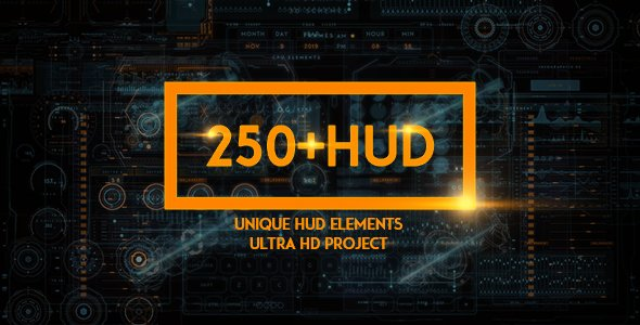 Motion Graphics - SCI-FI 1.1 (135 elements) [Videohive/17826577]