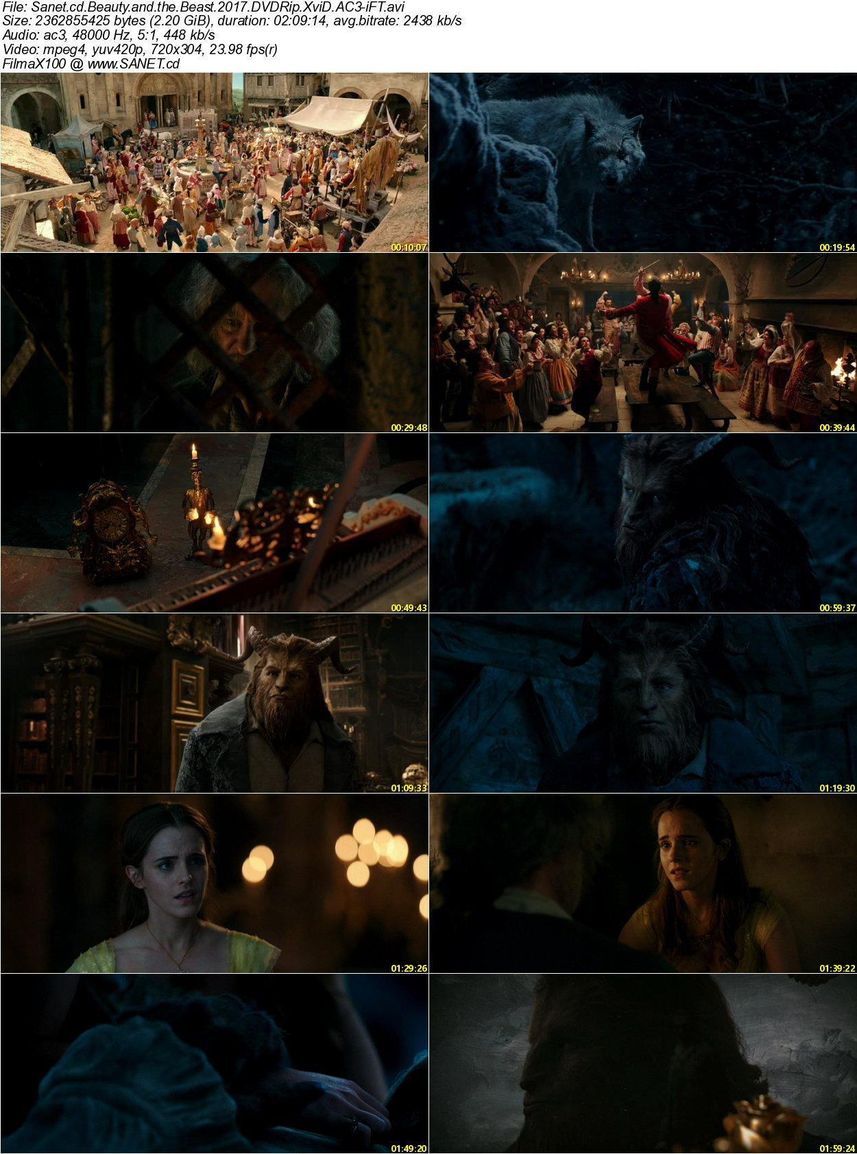beauty and the beast 2017 dvdrip
