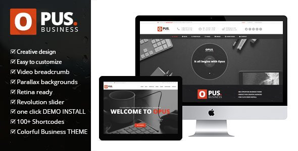 Themeforest: Opus v1.6 - Multipurpose WooCommerce Wordpress Theme - 8486694