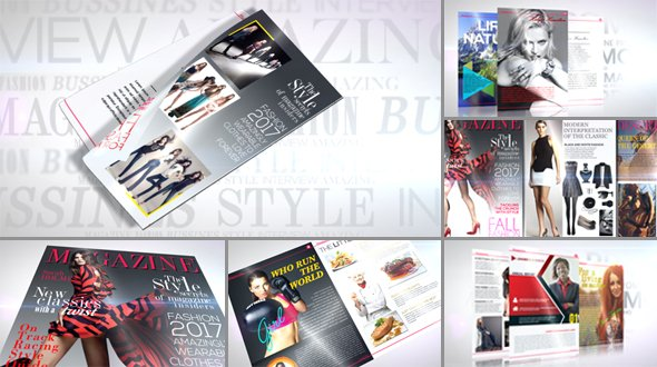 Magazine Promo 19495820 - Project for After Effects (Videohive)