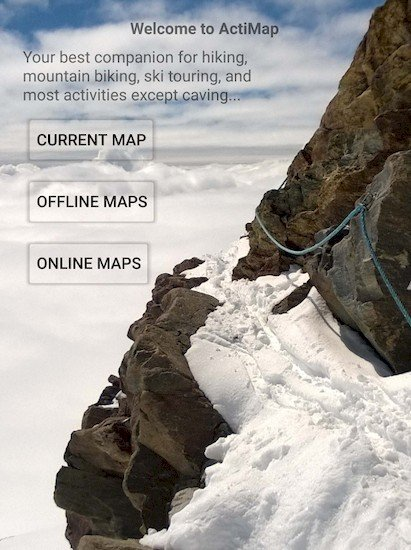 ActiMap - Outdoor maps & GPS v1.1.1.0 [Paid]