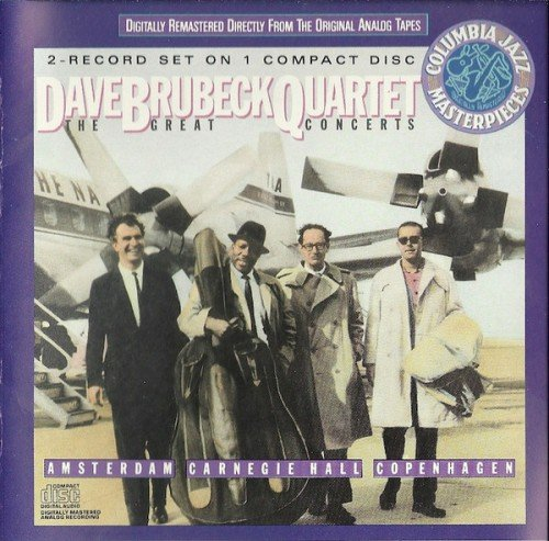 Dave Brubeck Quartet - The Great Concerts... Amsterdam, Copenhagen, Carnegie Hall (1988) (FLAC)