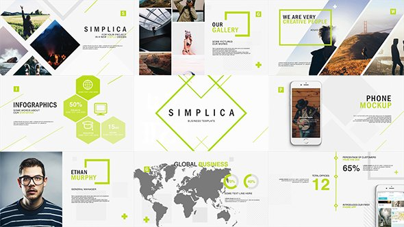 Simplica // Business Template - Project for After Effects (Videohive)