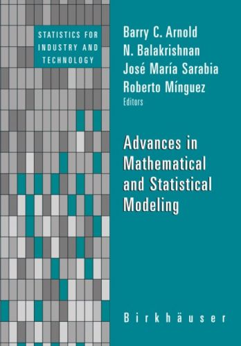 Advances in Mathematical and Statistical Modeling By Roberto Minguez