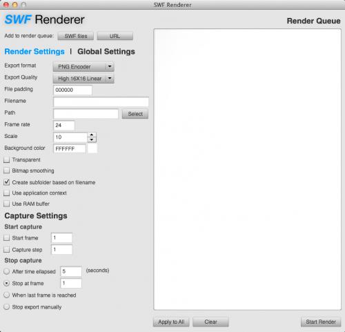 SWF Renderer 2.088 MacOSX
