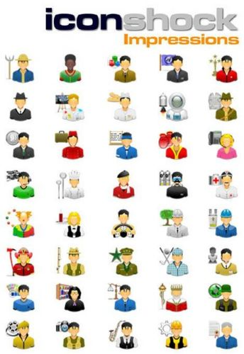 Impressions - Jobs icons Collections - pack 03