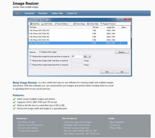 Portable Baiqi Image Resizer 2.0