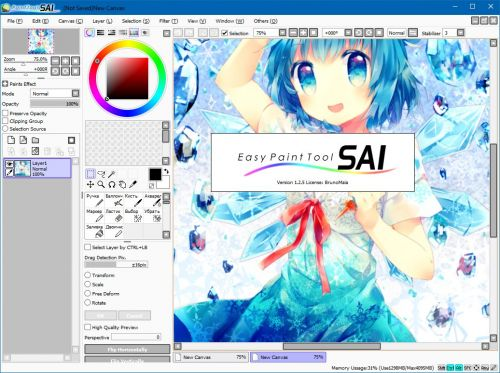 easy paint tool sai portable download