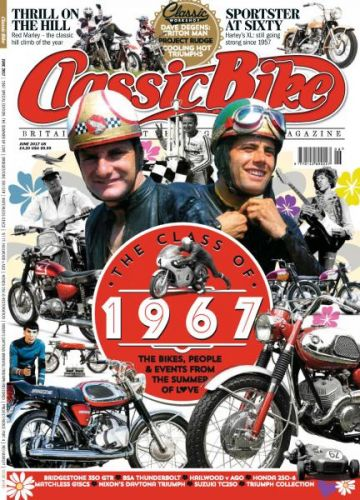 Classic Bike UK - Issue 449 - June 2017