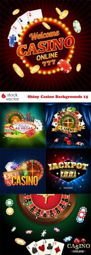 Vectors - Shiny Casino Backgrounds 15