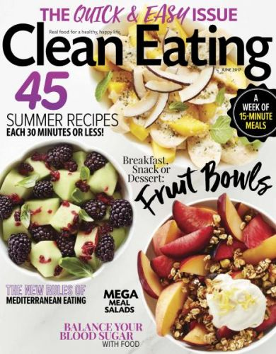 Clean Eating  June 2017 (True PDF)