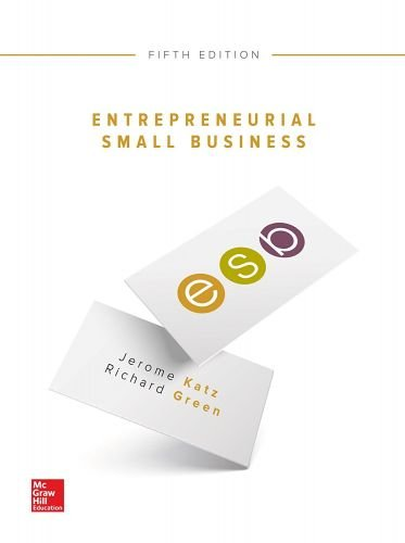 Entrepreneurial Small Business (Irwin Management)