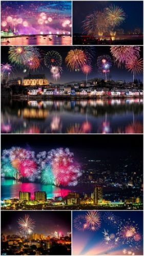 HD Fireworks photography