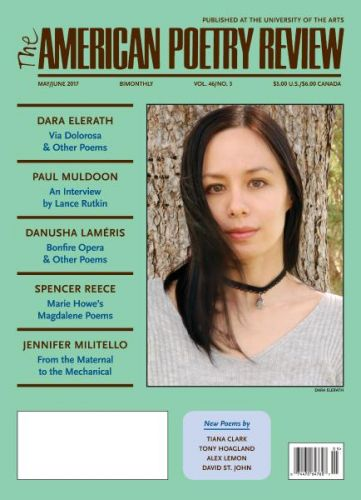 The American Poetry Review  May-June 2017