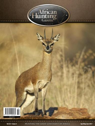 African Hunting Gazette - April-May-June 2017