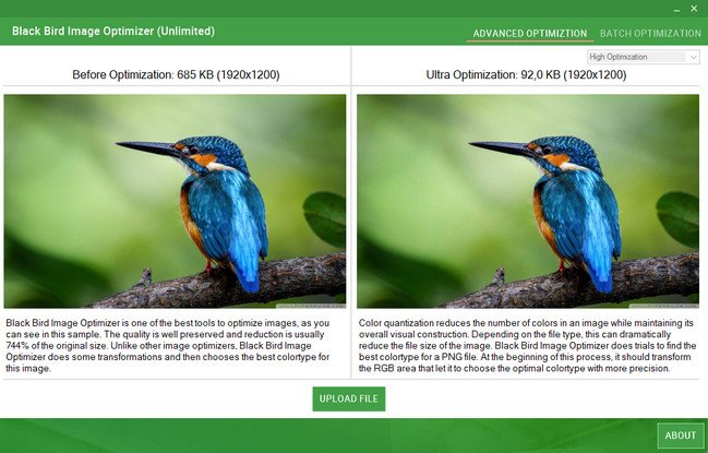 Black Bird Image Optimizer Pro 1.0.1.1