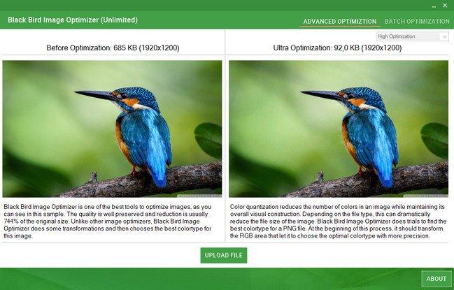 Black Bird Image Optimizer Pro 1.0.1.1