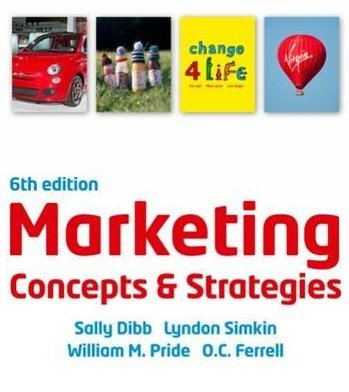 Marketing Concepts and Strategies, 6th edition