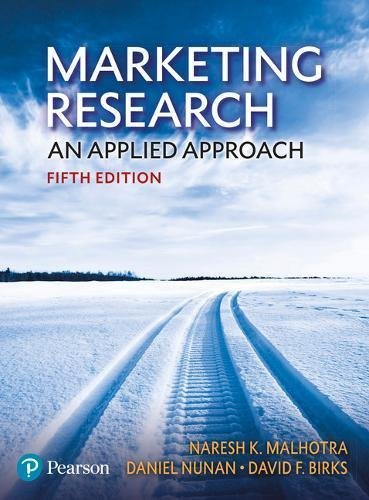 Naresh K. Malhotra – Marketing Research: An Applied Approach