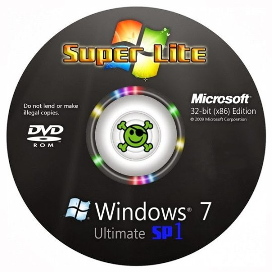 Windows 7 Super Lite Edition x86 Version 2017 Install / Ghost Setup