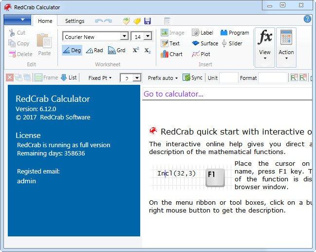 RedCrab Calculator 6.14.0 Full Portable
