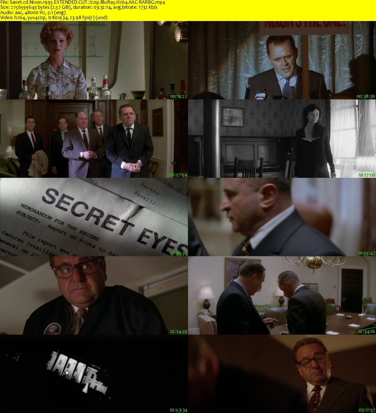 download nixon 1995 extended cut 720p bluray h264 aac
