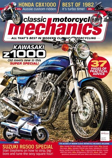 Classic Motorcycle Mechanics - July 2017 (True PDF)