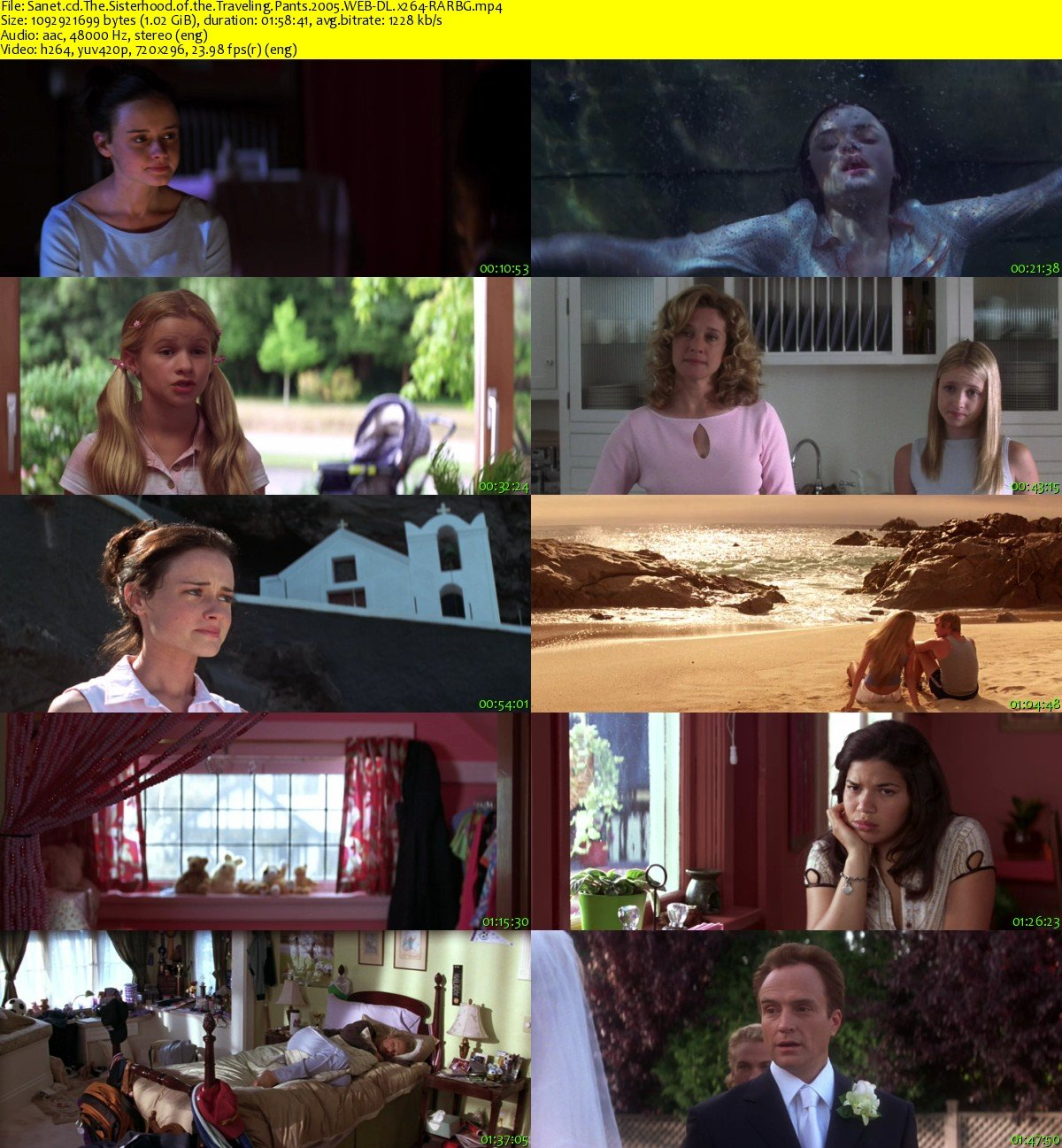 download the sisterhood of the traveling pants 2005 webdl
