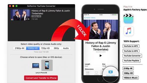 Softorino YouTube Converter 2.0.6 (MacOSX)