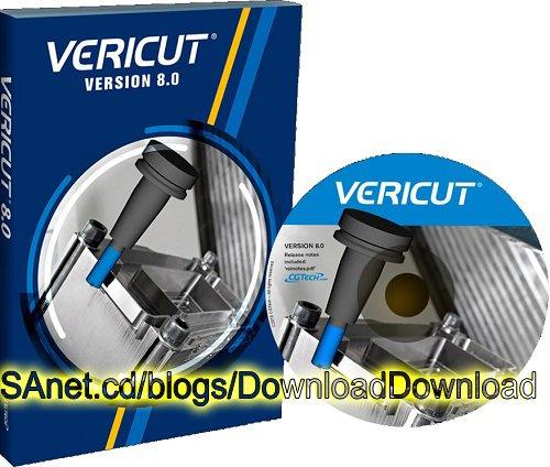 CGTECH VERICUT v8.0-MAGNiTUDE (24/6)