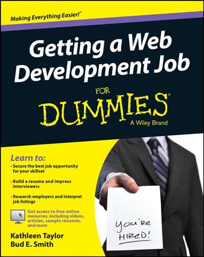 Getting a Web Development Job For Dummies (True PDF)