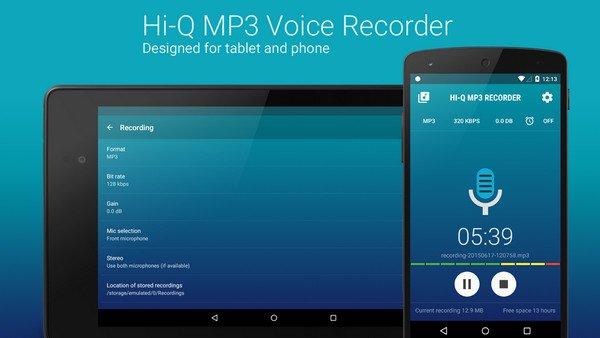 Hi-Q MP3 Voice Recorder PRO v2.2.0