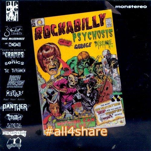 VA - Rockabilly Psychosis and the Garage Disease (1989) Lossless