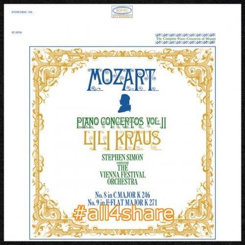 Lili Kraus, The Vienna Festival Orchestra & Stephen Simon - Mozart Piano Concertos Nos. 8 & 9 (2017) [Hi-Res]