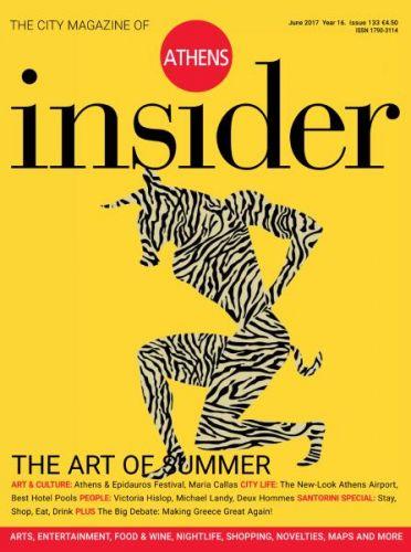 Athens Insider Magazine -- June 2017