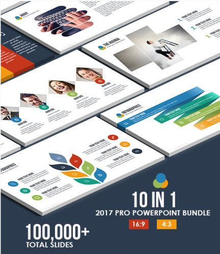 GraphicRiver - 10 IN 1 - 2017 Pro Powerpoint Bundle