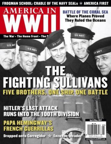 America In WWII - April-May 2017 (True PDF)