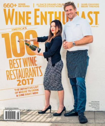 Wine Enthusiast -- August 2017