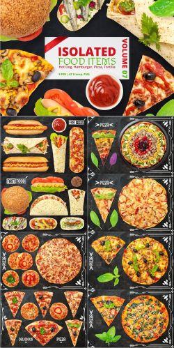 CreativeMarket - Isolated Food Items Vol.7