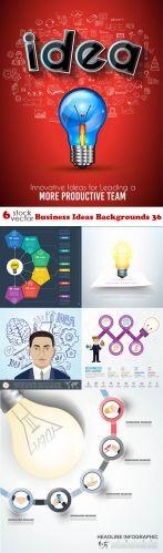 Vectors - Business Ideas Backgrounds 36