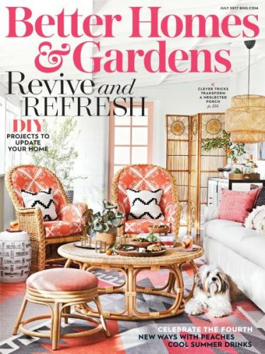 Better Homes and Gardens USA -- July 2017