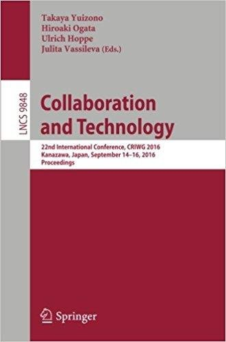 Collaboration and Technology: 22nd International Conference
