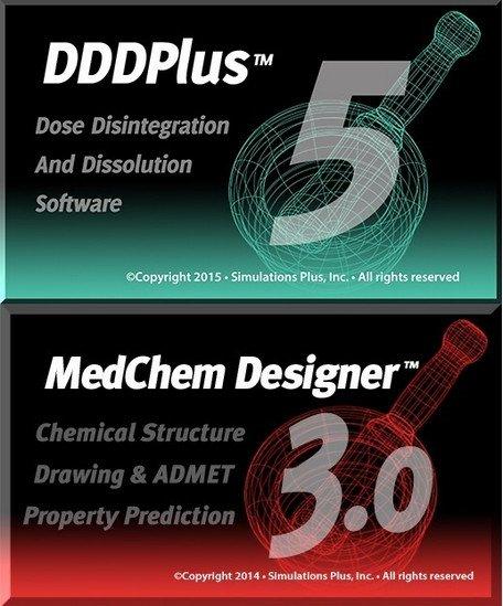 Simulations Plus DDDPlus 5.0  MedChem Designer 3.1.0