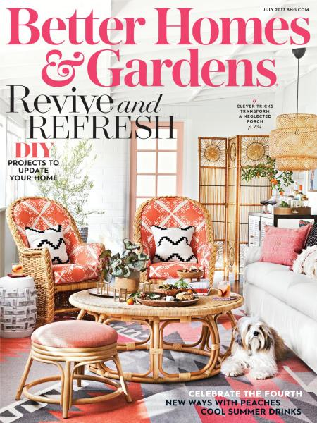 Download Better Homes And Gardens Usa July 2017