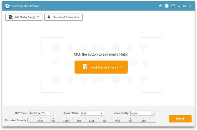 VideoSolo DVD Creator 1.1.8 Multilingual